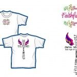 Faithful Steps_Ladies T-shirt